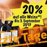 20% auf Weine bei Coop@home, z.B. Aglianico del Vulture DOC Carato Venusio für CHF 15.15 statt CHF 18.95