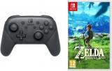 NSW Zelda + Pro Controller