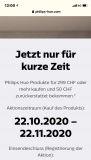 Philips hue 25% und 50 Chf cashback ab 299