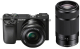 Sony Alpha a6000 Doublezoom Kit (16 – 50 mm, 24.30MP, 11FPS, WLAN) bei digitec