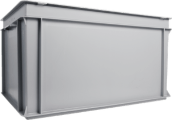 Aufbewahrungsbox RAKO 600x400x323 Grau bei JUMBO