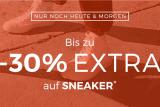 Nur heute: Bis zu 30% Extra-Rabatt auf ausgewählte Sneaker bei AboutYou