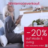 20% auf Mode und Living bei Ackermann, z.B. Sitzbank Queens von Home Affaire ab CHF 319.20 statt CHF 439.-