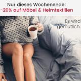 """20% auf Möbel und Heimtextilien bei Ackermann, z.B. FMD Wandregal """"Mika"""" für CHF 87.20 statt CHF 109.-"""