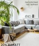 20% auf Möbel, Heimtextilien und Gartenmöbel bei Ackermann, z.B. Home affaire Papasansessel ab CHF 127.20 statt CHF 159.-