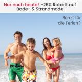 25% auf Bade- und Strandmode bei Ackermann, z.B. Lascana Bügel-Bikini für CHF 52.43 statt CHF 69.90