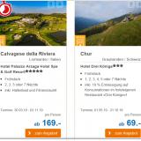 CHF 50.- Gutschein bei ALDI SUISSE TOURS
