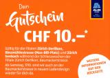 [Lokal – Zürich Oerlikon/Seebach]: Aldi-Gutschein CHF 10.- ab CHF 50.-