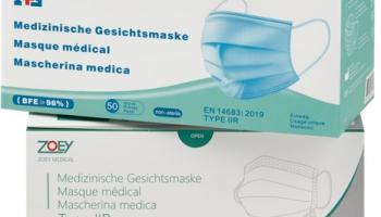 50% Rabatt auf alle Hygienemasken à 50 Stück bei Migros