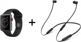 Apple Watch Series 3 + BeatsX Bundle (42mm, 4G, Aluminium, Silikon) für CHF 379.- bei digitec