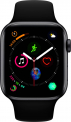 (lokal zum Abholen) Apple Watch Serie 4 44mm GPS space gray Aluminum Black Sport Band
