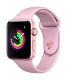 Apple Watch Series 3 GPS 42mm gold/pinksand zum Bestpreis