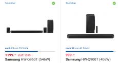 High End Dolby Atmos Soundbars bei digitec