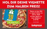 Autobahnvignette zum halben Preis ab MBW CHF 80.00 bei Telepizza