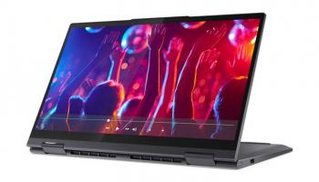 Lenovo Yoga 7 Convertible (14″ IPS-FHD, R7 5800U, 16GB / 1TB, 300 Nits, 72% NTSC) bei Interdiscount