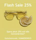 Mister Spex Flash Sale: – 25% auf alle Sonnenbrillen