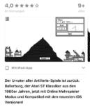 Retro Spiel Ballerburg gratis für iOS und Android