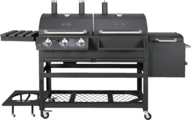 BBQ Dragon All-In-One 2.0 – Gas-Holz-Kombigrill bei MediaMarkt