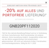 Hessnatur: -20% auf ALLES* und portofreie Lieferung, ohne MBW