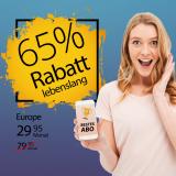 Salt Europe für CHF 29.95 (lebenslang) bei Handy-Abovergleich