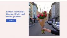 Blumenpost: 20% Rabatt auf Einzelsträusse