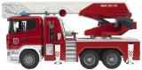 BRUDER SPIELWAREN SCANIA Feuerwehrleiterwagen bei Galaxus