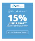 15% auf fast alles bei babywalz, z.B. Steiff Sweatshirt Bär für CHF 30.56 statt CHF 35.95