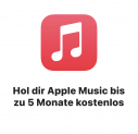 Apple Music bis zu 5 Monate gratis