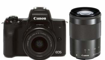 Canon EOS M50 Double Zoom Kit