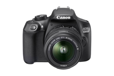 Canon EOS 1300D, EF-S 18-55mm DC III Spiegelreflexkamera, inkl. Tasche und 16 GB Speicherkarte bei melectronics
