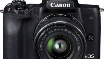 Canon EOS M50 + EF-M 15-45mm IS STM inkl. Kameratasche + 16GB Speicherkarte