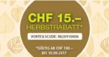 CHF 15.- Franken Rabatt bei Lehner Versand