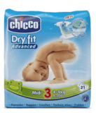 Chicco Dry Fit Grösse 3 bei Brack.ch Weniger als 10 Rappen pro Windel ohne Versand…