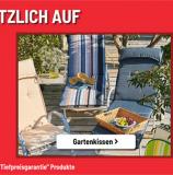 20% auf Gartenmöbel und Gartenkissen bei Conforama