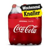 Coca Cola (auch Zero und Light) 6 x 1.5l für CHF 6.- (ab 2 Packungen) bei Coop und Coop@home