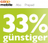 Coop Mobile (Swisscom Netz) Abo 19.90/Monat (33% Rabatt)