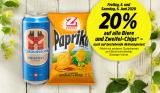 Nur heute: 20% Rabatt auf Biere (auch auf Aktionspreise!) & Zweifel-Chips bei Denner