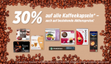 30% Rabatt auf alle Kaffeekapseln* bei Denner