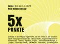 [lokal AG / BE / SO] Vom 4. – 6.8.2021 für Famigros Mitglieder 5x Cumulus Punkte bei Migros (Genossenschaft Migros Aare)