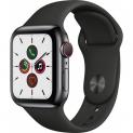 Apple Watch 5 4G, 44 mm, Edelstahl