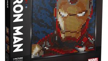 LEGO Art Marvel Studios Iron Man – Kunstbild bei Interdiscount