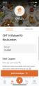 Eat.ch: 10 CHF Rabatt via Poinz App (Neukunden)