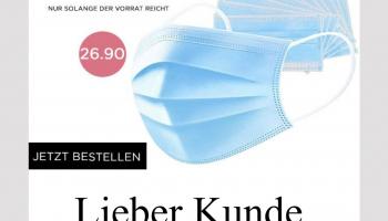 50 Stk. Mundschutzmasken bei click&care
