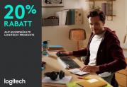 20% auf ausgewählte Logitech Produkte bei Melectronics