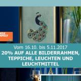 20% auf Bilderrahmen, Teppiche, Leuchten und Leuchtmittel bei IKEA, z.B. NYMÖ Leuchtenschirm für CHF 19.95 statt CHF 24.95