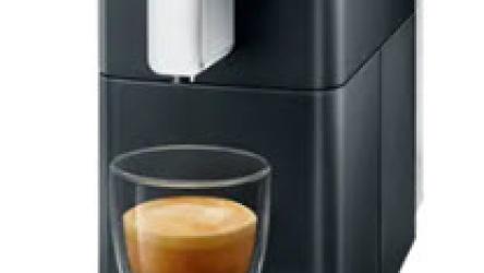 Homeoffice mit Delizio und Carina: Kaffemaschine + 192 Kapseln für CHF 74.-