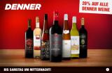 20% auf Denner-Weine kombinierbar mit 10% Coupons bei LeShop (Bestandeskunden) und weitere interessante LeShop Aktionen