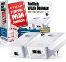 """100 Stück des """"Devolo dLAN 1200+ WiFi Starter Kit"""" zum reduzierten Preis"""