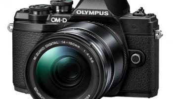 Olympus OM-D E-M10 Mark III Kit 14-150mm 1:4.0-5.6 II, Schwarz