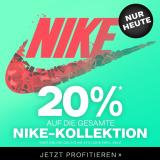 Nur heute: 20% auf alles von Nike bei Dosenbach, z.B. Nike Herren Running Shirt für CHF 19.90 statt CHF 24.90